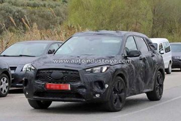 Spied: Infiniti busy testing new QX50 premium crossover