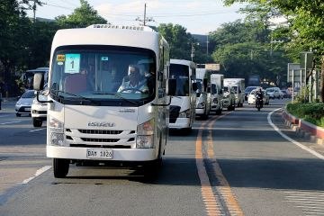 LTFRB activates 308 modern PUVs to ply along 15 routes in Metro Manila