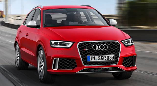 Geneva 2013 Preview: Audi Q3 gets the RS treatment image